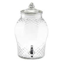 Üveg italadagoló 7,5 liter
