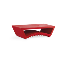 Tac asztal piros