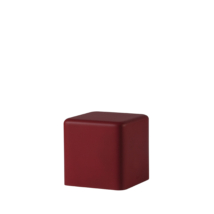 Soft Cubo bordó
