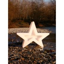 Astra csillag puff fehér
