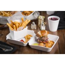 Sült krumpli tartó - nagy és Hamburger tál